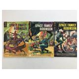 1964-65 Gold Key Space Family Robinson #10 #11 #12
