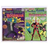1965 DC Doctor Fate & Hourman #55 #56