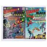 DC Comics Starman & Black Canary #61 #62