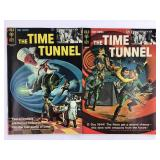 1966 Gold Key The Time Tunnel #1 #2