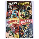 Tower Comics T.H.U.N.D.E.R. Agents #1 #2 #4 #5