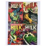 Marvel The Incredible Hulk #107 #108 #109 #110