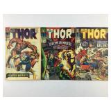 Marvel Comics The Mighty Thor #135 #136 #137