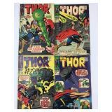 Marvel Comics The Mighty Thor #141 #142 #143 #144