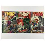 Marvel Comics The Mighty Thor #149 #150 #151