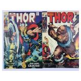 Marvel Comics The Mighty Thor #159 #160