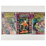 DC Comics Justice League of America #46 #47 #49