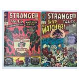 Marvel Stange Tales 134 & 136