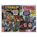 Marvel Strange Tales 142 & 143