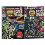 Marvel Strange Tales Doctor Strange 150 & 151