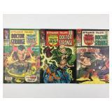 Marvel Strange Tales Doctor Strange 156 157 &159