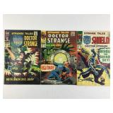 Marvel Strange Tales Doctor Strange 163 164 & 165