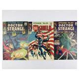 Marvel Strange Tales Doctor Strange 166 167 & 168