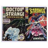 Marvel Doctor Strange 170 & 177