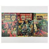 Marvel Strange Tales Doctor Strange 160 161 & 162