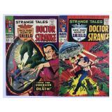 Marvel Strange Tales Doctor Strange 152 & 153