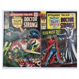 Marvel Strange Tales Doctor Strange 154 & 155