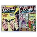 DC Justice League of America 10 & 11