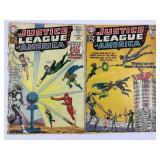 DC Justice League of America 12 & 13