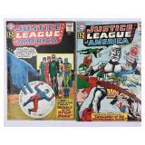 DC Justice League of America 14 & 15