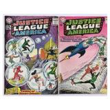DC Justice League of America 16 & 17