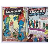 Justice League of America 18 Murphy Anderson & 19