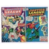 DC Justice League of America 21 & 22