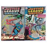 DC Justice League of America 25 & 26