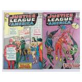 DC Justice League of America 27 & 28