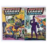 DC Justice League of America 33 & 34
