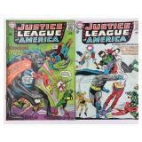 DC Justice League of America 35 & 36