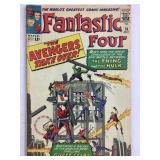 Fantastic Four 26 Hulk vs Thing Avengers Cross