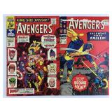1966 The Avengers #35 & 1967 King-Size Special #1