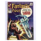Marvel Fantastic Four 55 When Strikes Silver Surfr