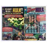 Marvel Tales To Astonish 69 & 70