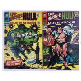 Marvel Tales To Astonish 83 & 84 Bill Everett Covr