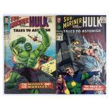 Marvel Tales To Astonish 85 & 86 Hulk Killer 1st