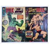 Marvel Tales To Astonish 94 & 95 Bill Everett Art