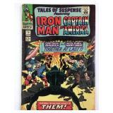 Tales of Suspense 78 1st Captain America & Fury