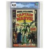 Marvel Super-Heroes 12 Graded 4.0