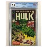 The Incredible Hulk 102 Graded 7.5