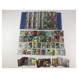 Hundreds Comic Book Trading Cards 1990s & 2000s