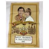 Charles & Diana Royal Wedding Tea Towel