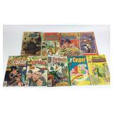 8 VTG Comic Books Marvel Harvey DC Charlton