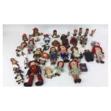 Lot of 30+ Raggedy Ann & Andy Mini Dolls + More