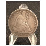 1840-P Seated Liberty Half Dollar