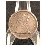 1875-S Seated Liberty Twenty Cent Piece