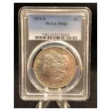 1878-S Morgan Dollar PCGS-MS63