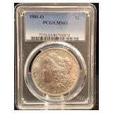 1901-O Morgan Dollar PCGS MS63