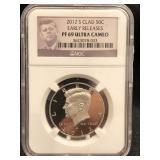 2012-S Kennedy Clad Half Dollar PF69 ULTRA Cameo